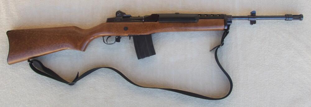 <b>DRAPSVÅPEN:</b> Hansen brukte blant annet en 223 Ruger Mini-14-rifle da han jaktet kvinnene i villmarken som om de var byttedyr.