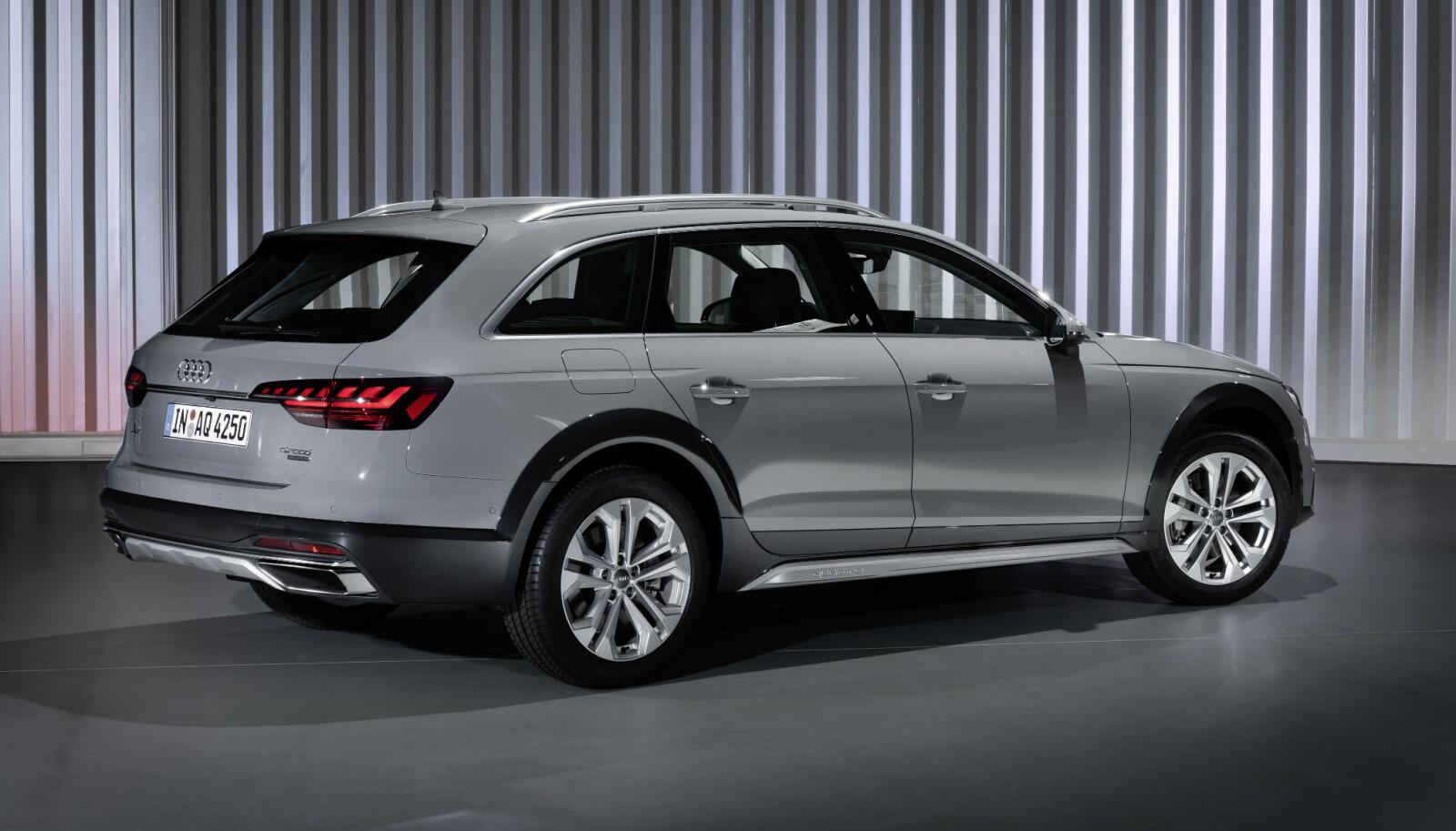 HØYERE: Audi A4 Allroad øker bakkeklaringen.