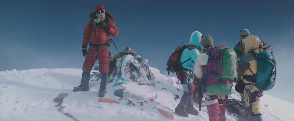 <b>FEMTE GANG PÅ TOPPEN:</b> Hollywood lagde katastrofefilmen «Everest» på grunnlag av tragedien i 1996, her med Jason Clarke (t.v.) i rollen som Rob Hall.