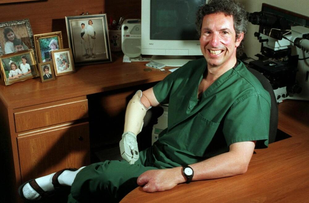 <b>TILBAKE:</b> Beck Weathers måtte amputere en arm, fingre, deler av begge føttene – og nesen.Den ble imidlertid bygd opp igjen ved bruk av vev hentet fra ørene og pannen.