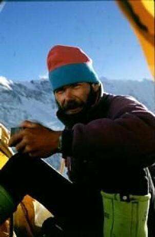 <b>PÅ TOPPEN:</b> Rob Hall døde der han elsket å være – høyt oppe på et fantastisk fjell. Han ble bare 35 år gammel, men hadde bak seg en klatrekarriere som var særdeles imponerende.