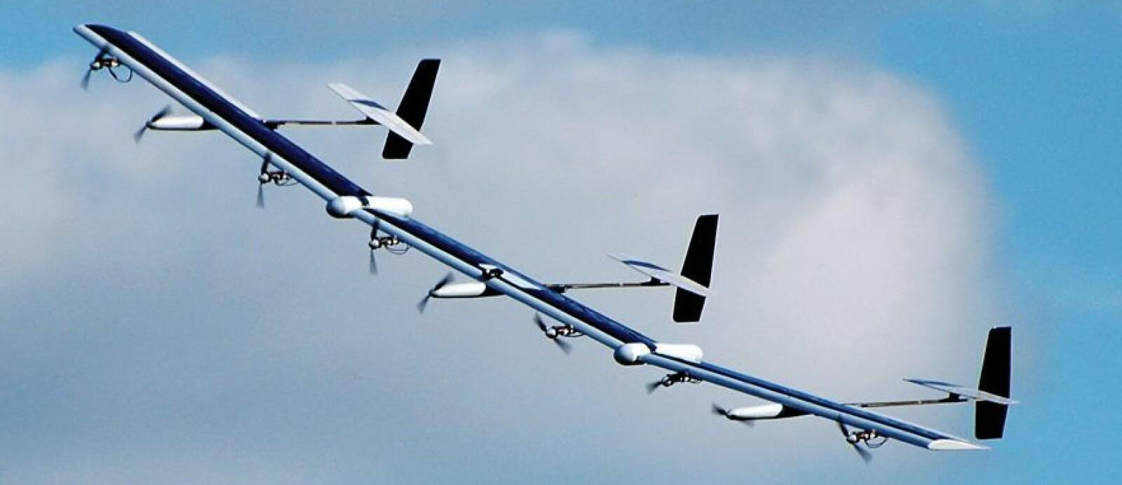 <b>ODYSSEUS:</b> Den soldrevne dronen fra Boeing-selskapet Aurora Flight Sciences.