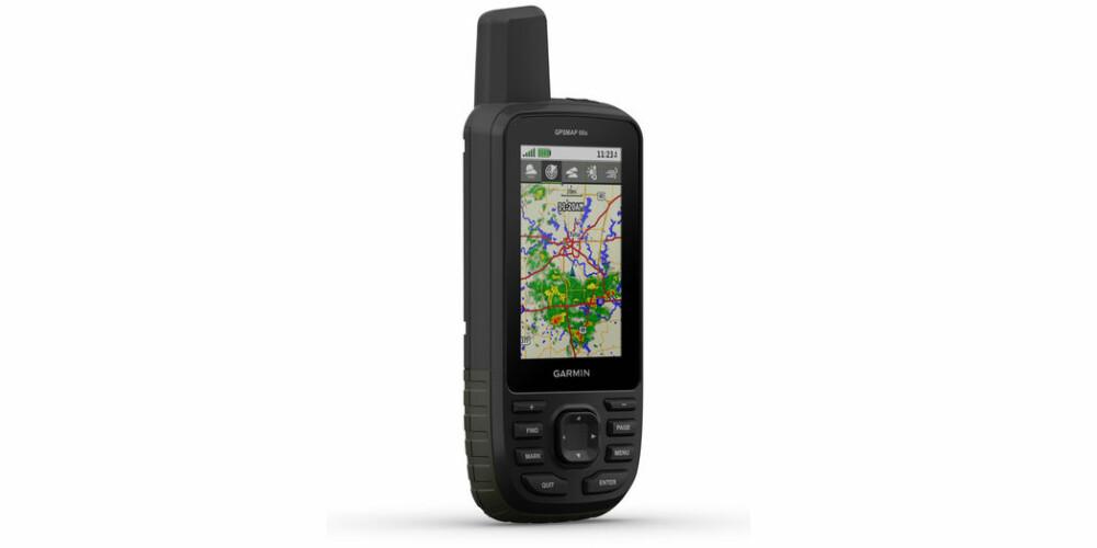 <b>KOMPAKT:</b> En kompakt og liten GPS som Garmin GPSMAP 66s tar ikke mye plass i sekken
