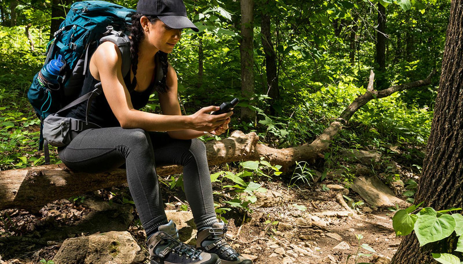 <b>VEIVISER:</b> En GPS-enhet er en ekstra trygghet på tur, men husk også å ta med kart og kompass.
