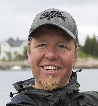 """<b>LAKSEGUIDE:</b> Christer Rognerud og familien har tatt et helt år fri for å leve """"villmarkslivet""""."""