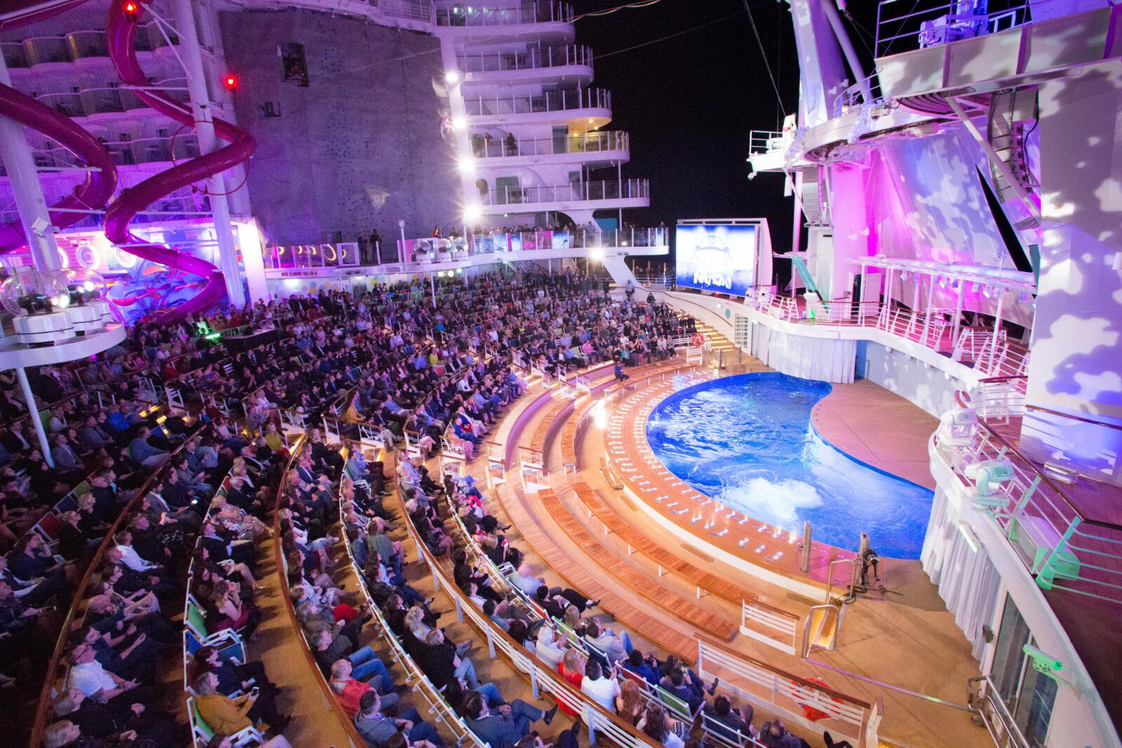 <b>TEATER:</b> Akter ligger også The Aqua Theatre.
