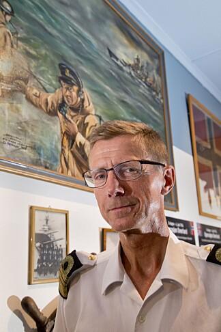 <b>HISTORIKER:</b> Kommandør-kaptein Hans Peter Oseth.