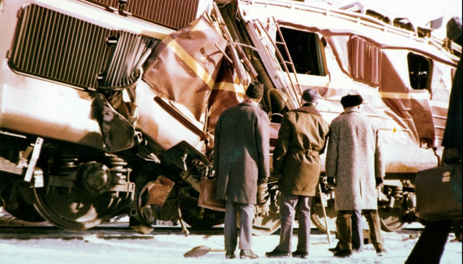 <b>TRETTEN-ULYKKEN:</b> Tretten-ulykken skjedde da et hurtigtog fra Oslo og Dovreekspressen fra Trondheim kolliderte like nord for Tretten stasjon i Øyer kommune i Oppland.