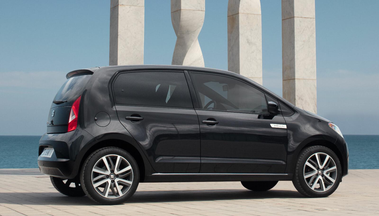 ELEKTRISK: Mii electric er en liten elbil på størrelse med slektningene VW e-up! og Skoda Citigo.