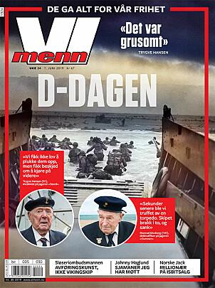 <b>TIDSVITNE:</b> I ukens Vi Menn får du historien til Monrad Mosberg og andre som opplevde D-dagen.