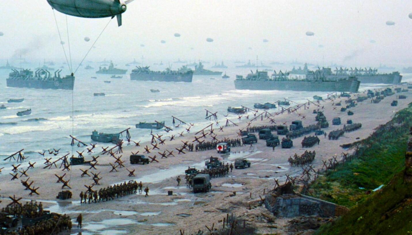 <b>ORDEN:</b> I starten var strendene i Normandie et kaos av skyting, døde og lemlestede kropper, maskiner og utstyr. På dette bildet er likene fjernet og ilandsettingen av flere allierte soldater, våpen og utstyr er i full gang.