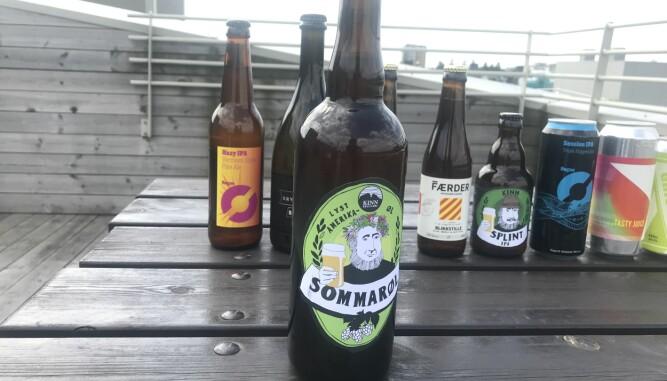 <b>PALE ALE:</b> Kinn Sommarøl er beste Pale Ale i testen