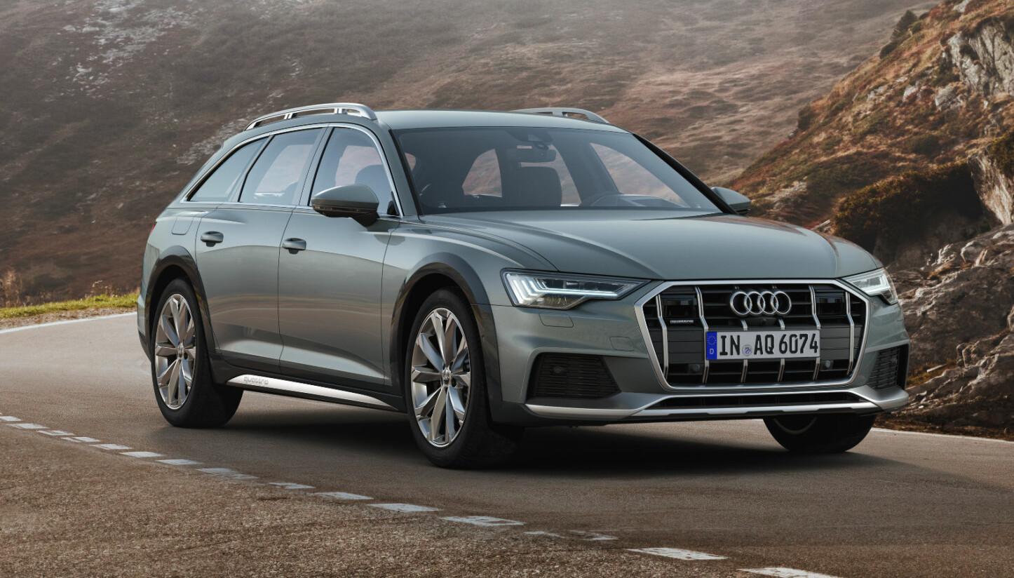 <b>ALLROAD:</b> Nye Audi A6 allroad quattro kommer til Norge til høsten.