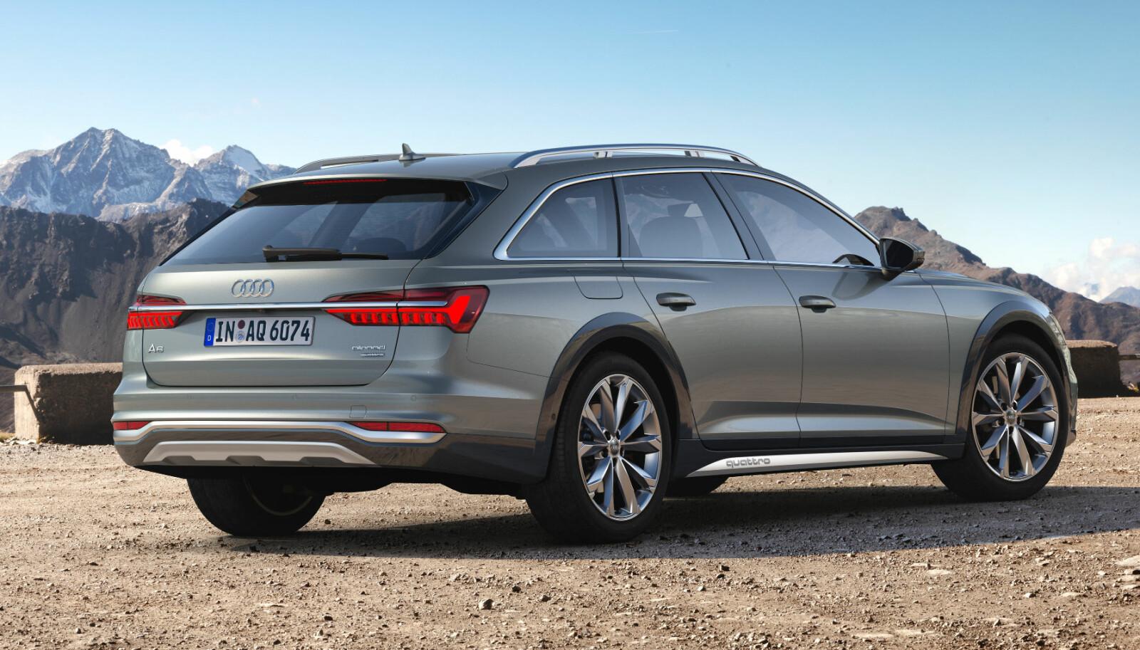 KRAFTIG DIESEL: Audi A6 Allroad kommer med dieselmotorer som spenner fra 231 hester til hele 349 hestekrefter. Tillatt tilhengervekt er 2500 kilo.