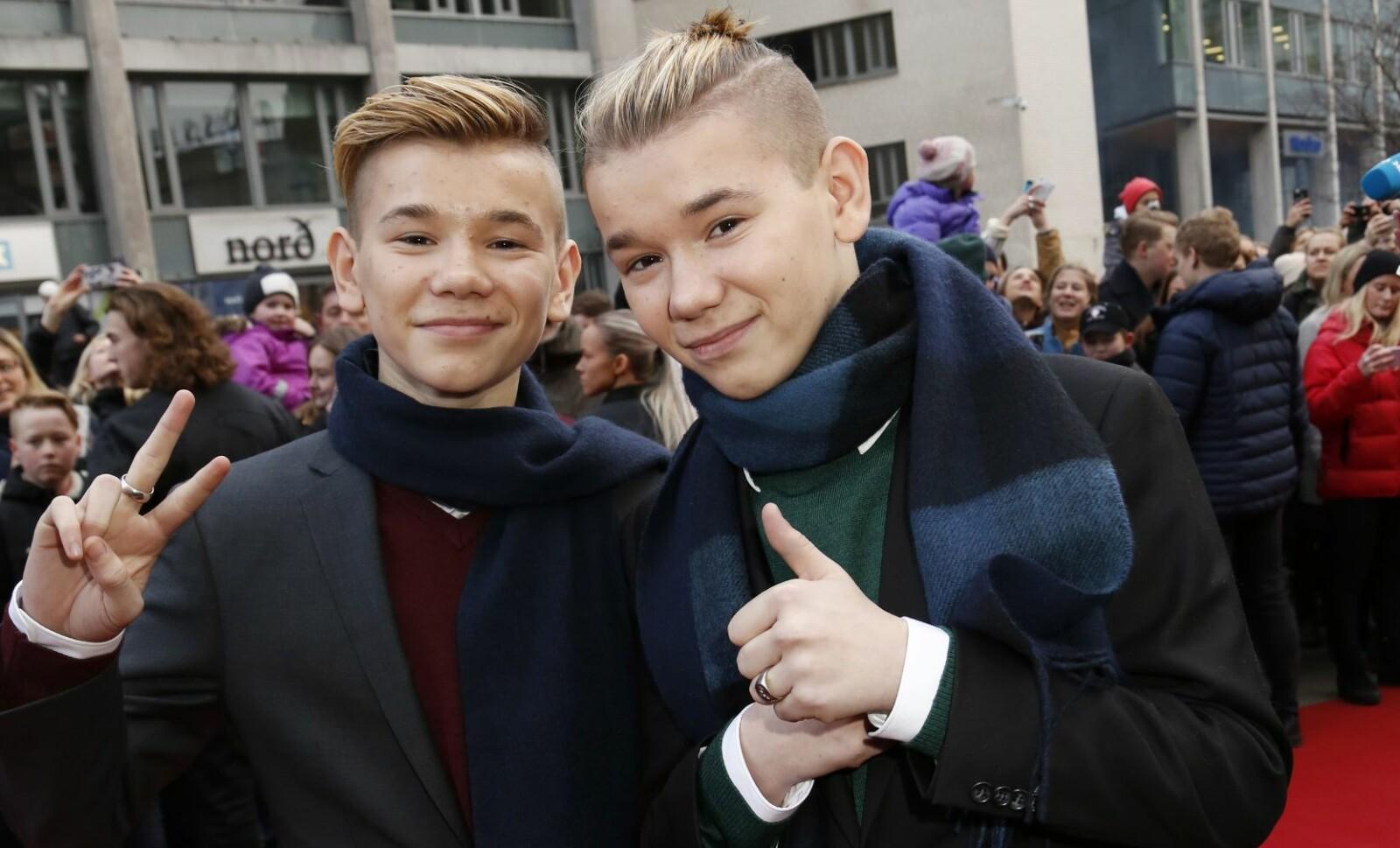 <b>STJERNER:</b> 12,4 millioner kroner kostet det å lage filmen om popstjernene Marcus og Martinus som hadde premiere i januar 2017. Staten bidro med 9,1 millioner kroner til filmen anmeldere kalte «reklamefilm».