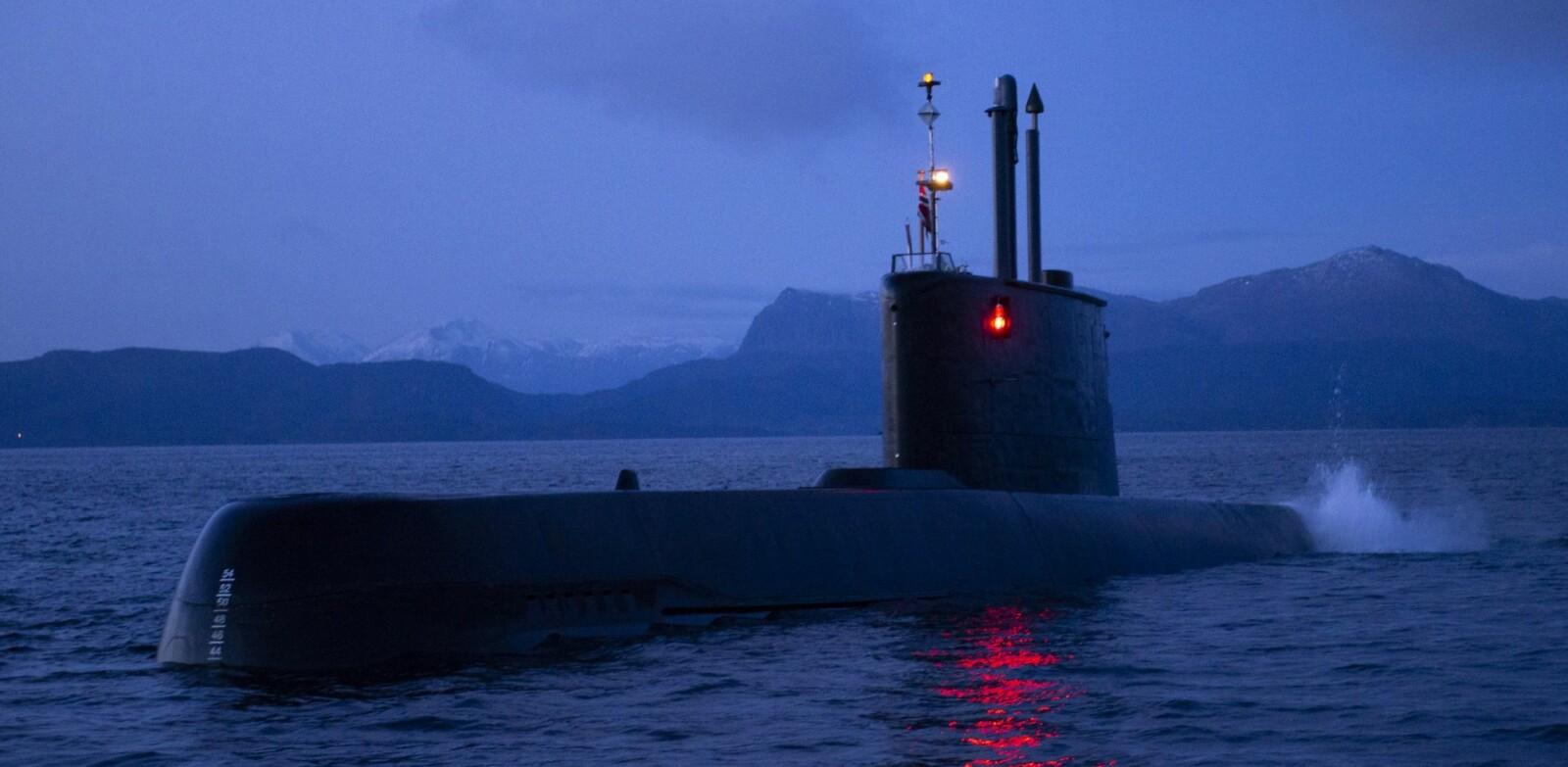 <b>SÅRBAR:</b> På overflaten er alle ubåter sårbare. I norsk kystfarvann er KNM Utsira vanskelig å finne.