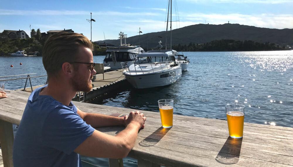<b>HYSETRYNE: </b>Ankerøl brygget på tang og sjøvann.