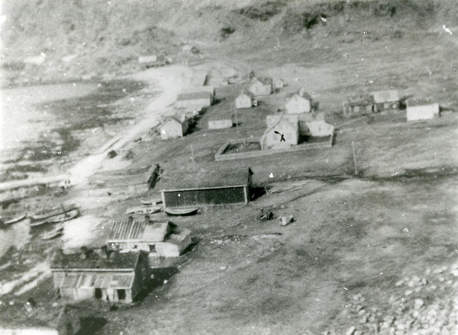 <b>FISKEVÆR:</b> Sværholt på 30-tallet.