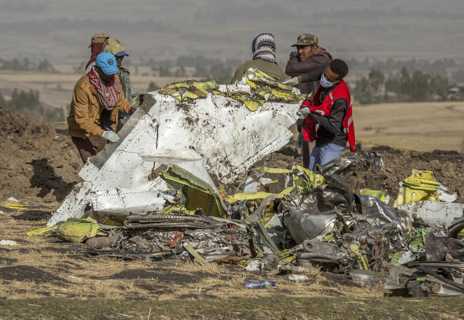<b>HAVARISTED:</b> Pilotene på Ethiopian flight 302 forsto at det var problemer med flyets MCAS-system og slo av de riktige bryterne. Allikevel var flyet umulig å redde fra å styrte.
