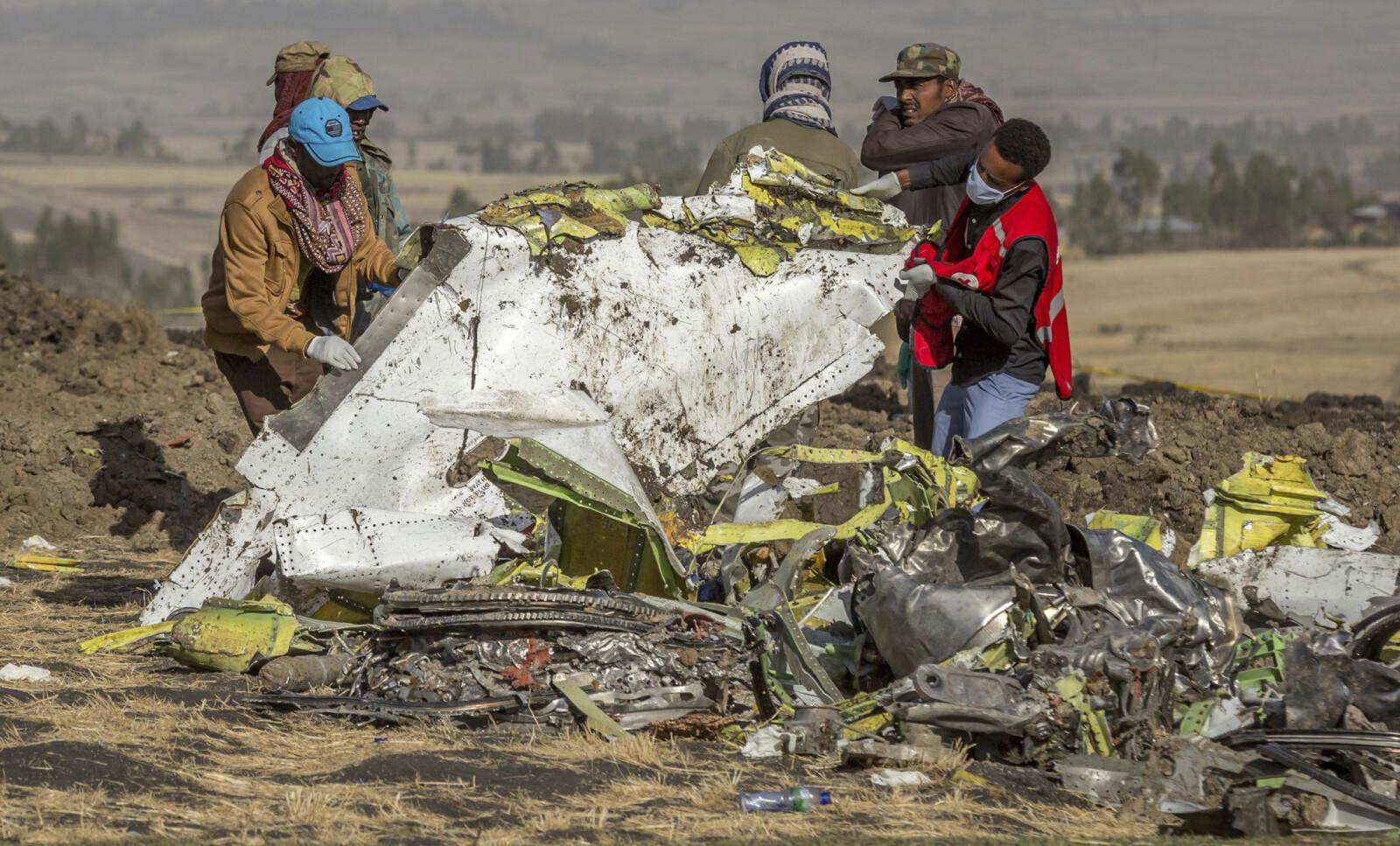 <b>HAVARI-STED:</b> Pilotene på Ethiopian flight 302 forsto at det var problemer med flyets MCAS-system og slo av de riktige bryterne. Likevel var flyet umulig å redde fra å styrte.