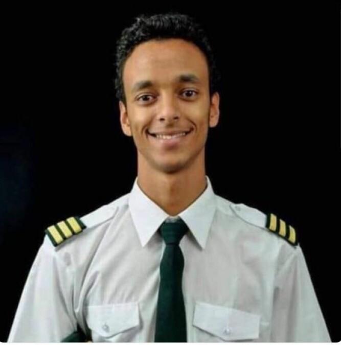 <b>KAPTEINEN:</b> Den unge kapteinen Yared Getachew gjorde sitt beste, men hadde ingen forutsetninger for å kunne redde Ethiopian-flyet.