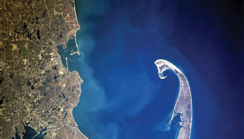 <b>CAP COD:</b> Det var her, til den fiskekrokformede Cape Cod emigrantene fra Mayflower gikk i land i Amerika. På jakt etter et bedre liv.