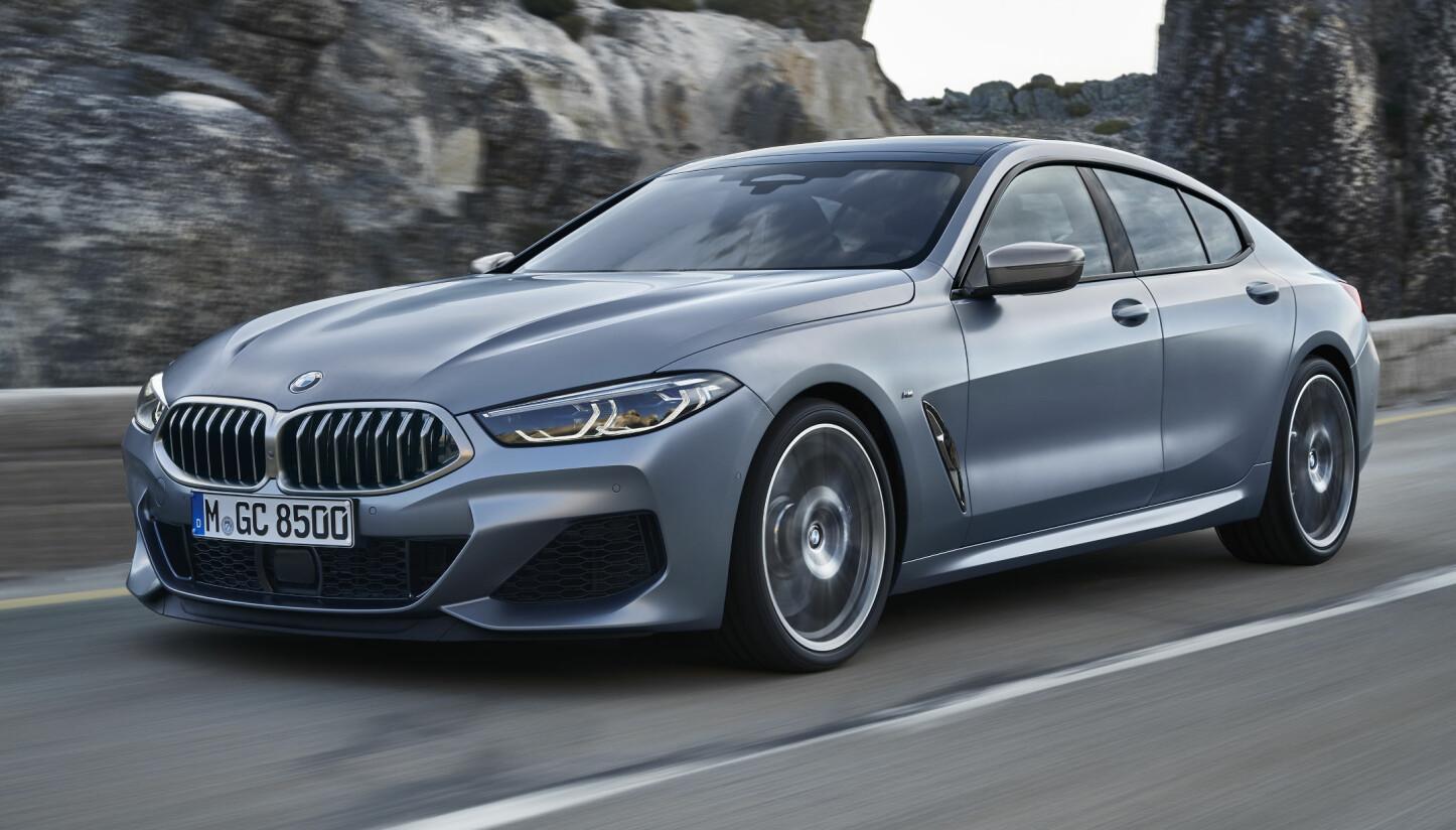 PRISER: BMW 8-serie Gran Coupé lanseres i november.