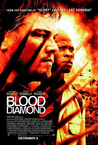 <b>BLODDIAMANTER:</b> Filmen med Leonardo DiCaprio i hovedrollen.