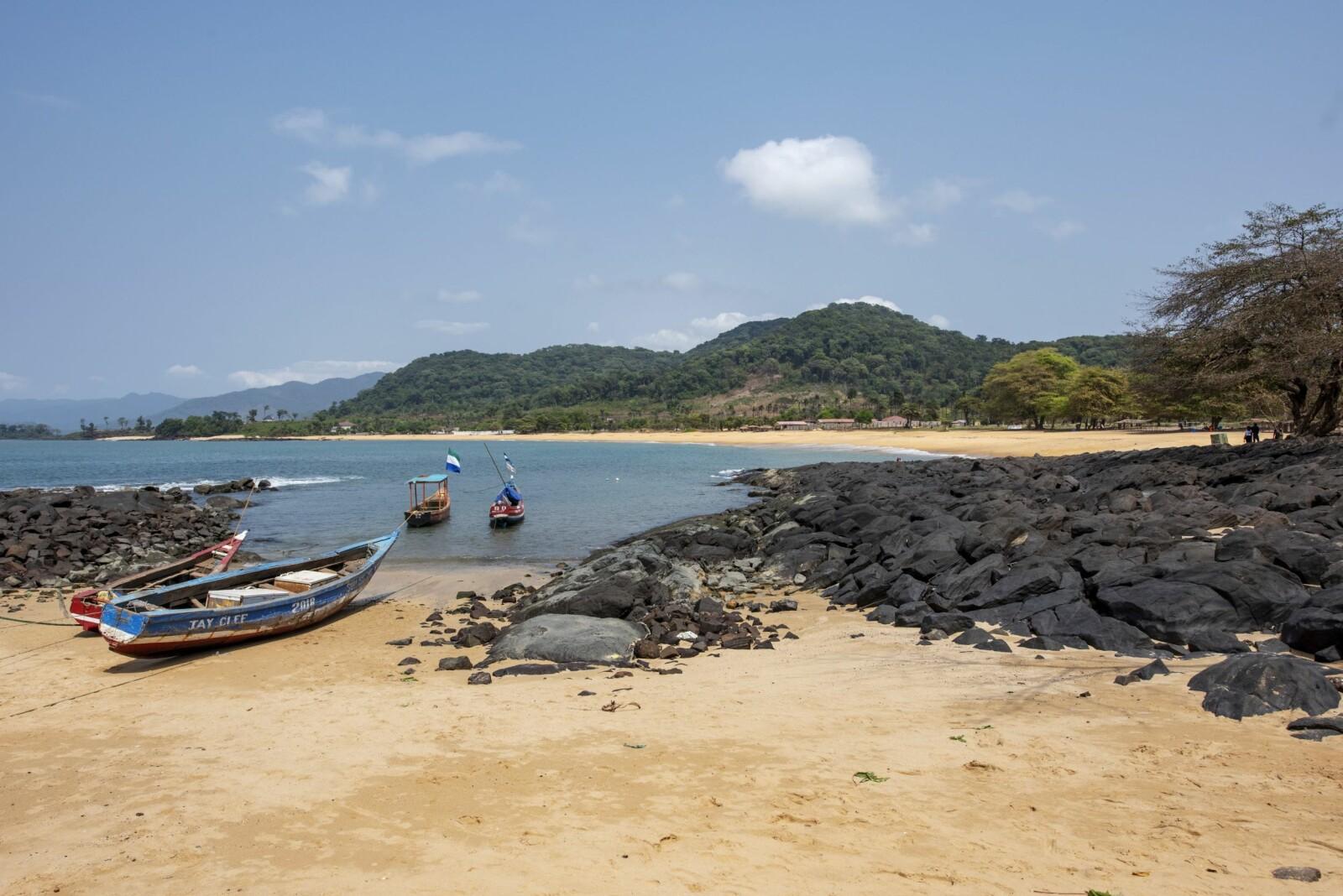 <b>STRANDIDYLL:</b> Sierra Leone spiller på et bredt spekter. Landet byr også på praktfulle strender.