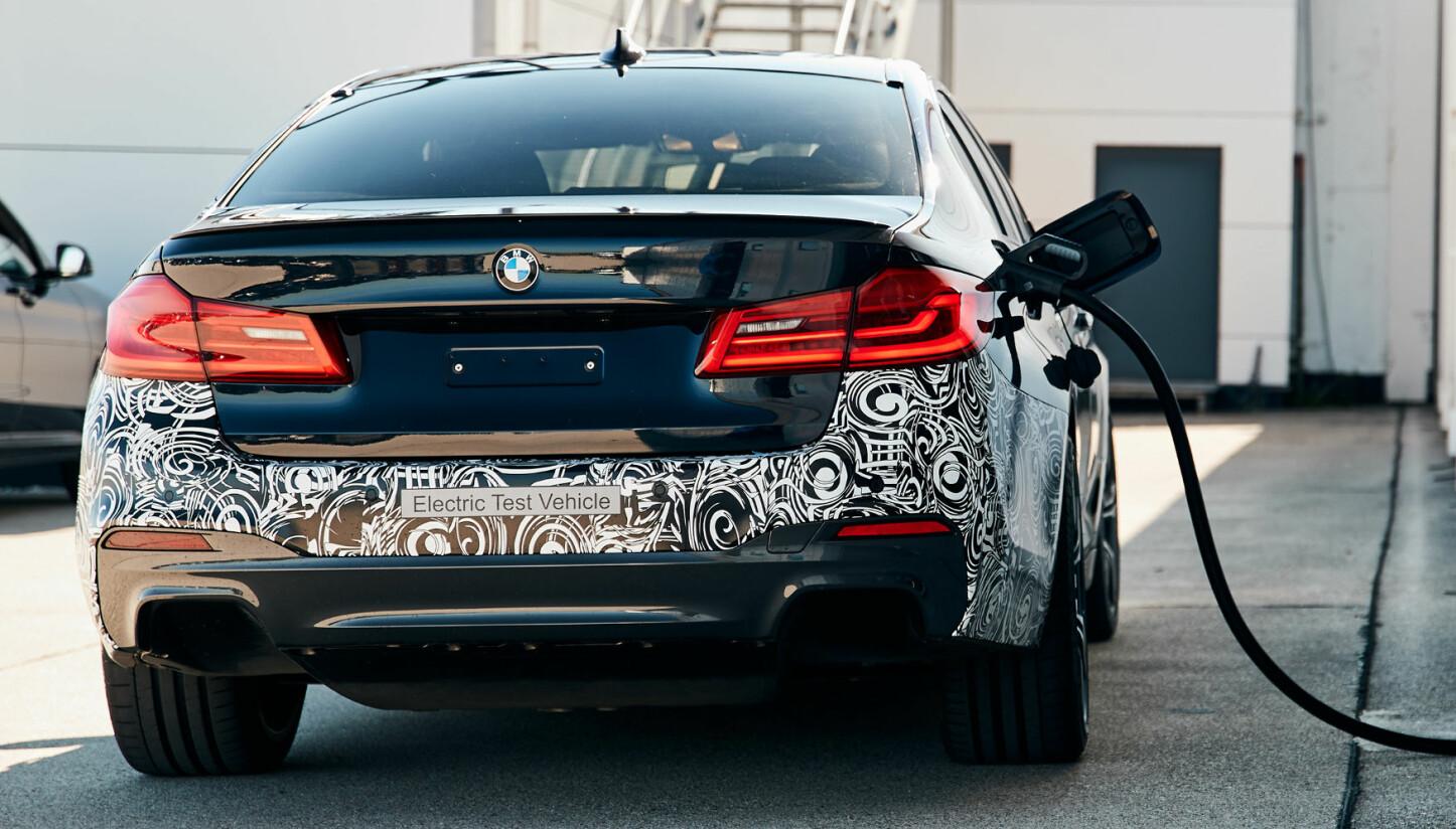 <b>POWER BEV: </b>Elektromotoren og batteriene som nå testes vil bli å finne i kommende BMW-modeller.