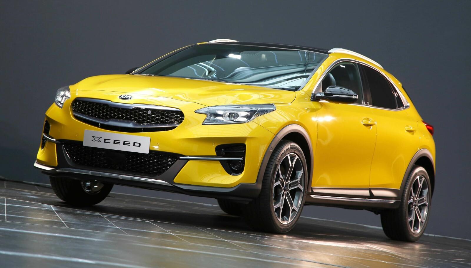 LENGDE: XCeed er temmelig nøyaktig like lang som Nissan Qashqai, en av de største crossover-suksessene i Norge.