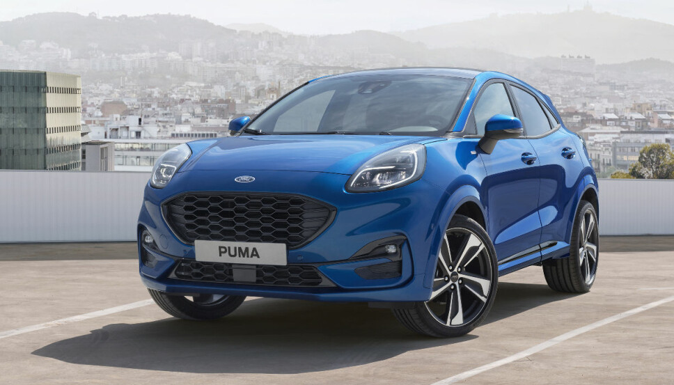 FIESTA: Puma er basert på Fiesta-base, men er 14,5 centimeter lengre.