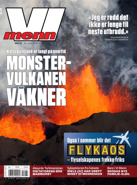 MONSTERVULKANER: Vi Menn skriver denne uken om vulkaner som er på overtid. Når smeller det neste gang?