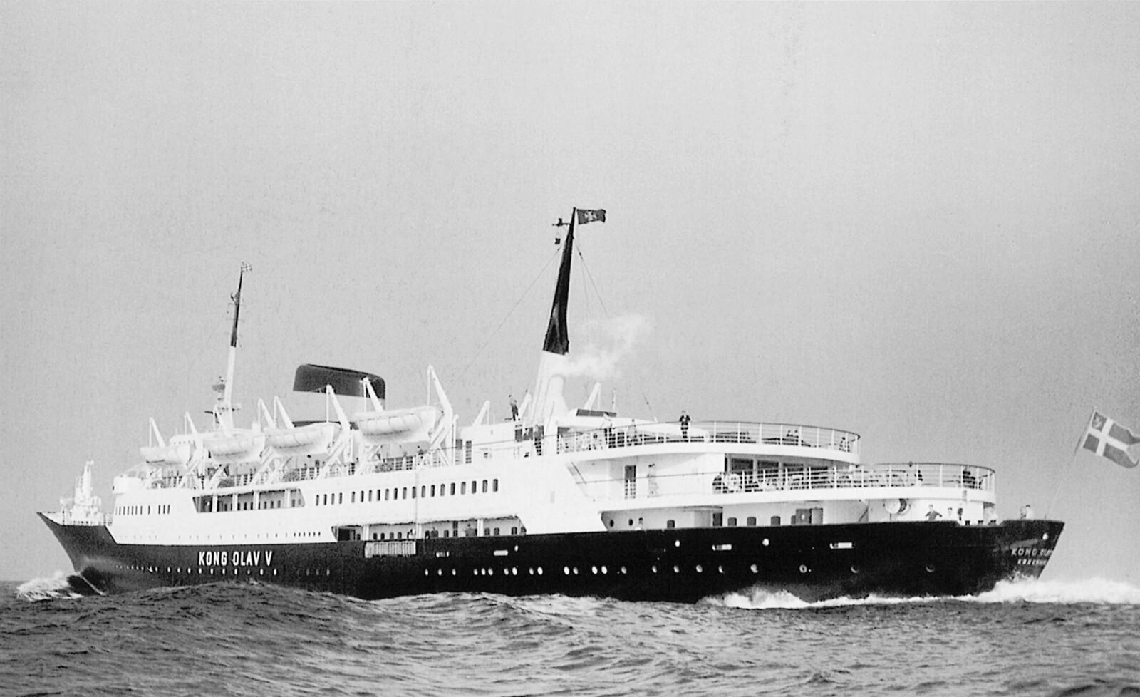 <b>ARVEN:</b> I 1961 ble MS «Kong Olav V» satt inn på ruten mellom Oslo og København.