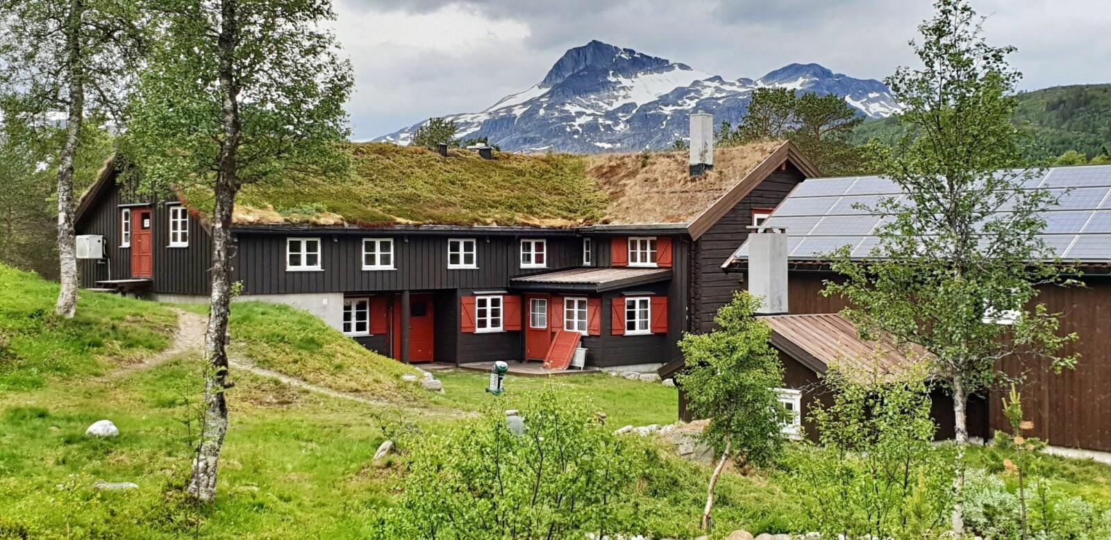 <b>HYTTE:</b> Trollheims-hyttaer betjent i sommer-sesongen og er et godt utgangspunkt for turen til Trollhøtta-traversen.
