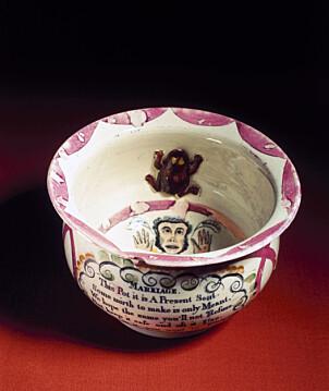 <b>SNADDER:</b> Restemat servert fra en potte skal altså markere inngangen til livet som gift.