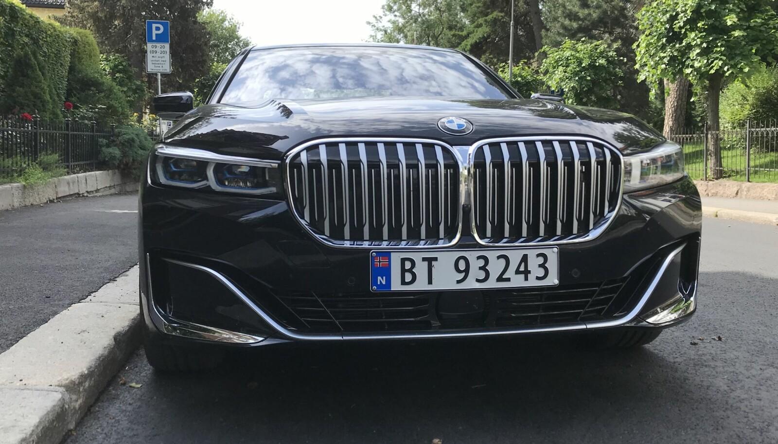 NYREGRILL: Gal etter grill og det ypperste innen komfort? Her er nye BMW 7-serie.