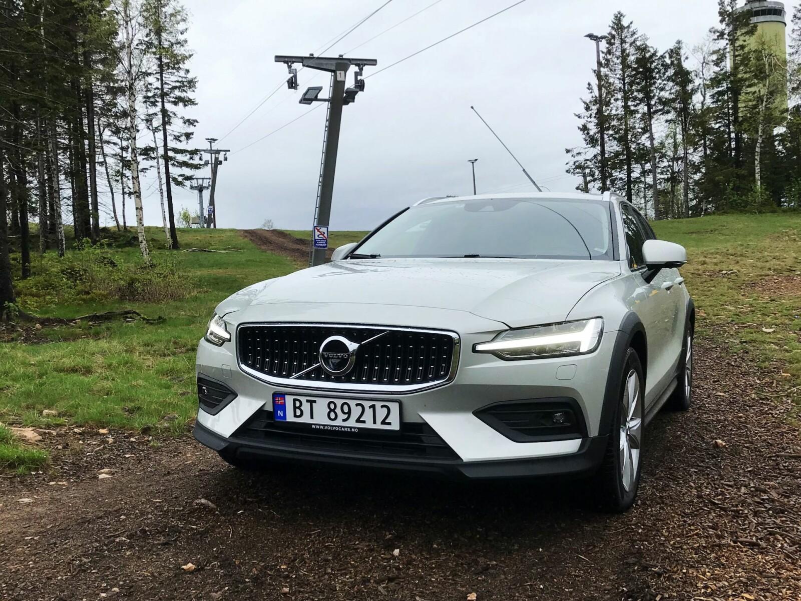 <b>DRØMMEBILEN:</b> Den ultimate Volvo-en hadde vært Cross Countryversjonen av V60 som ladehybrid.