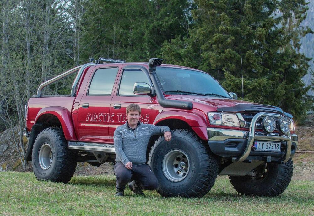 <b><SPAN CLASS=BOLD><STRONG>NY:</b></strong> </span>Jonny Myrann har i dag kjøpt seg en nyere utgave av en Arctic Trucks-ombygget Hilux.