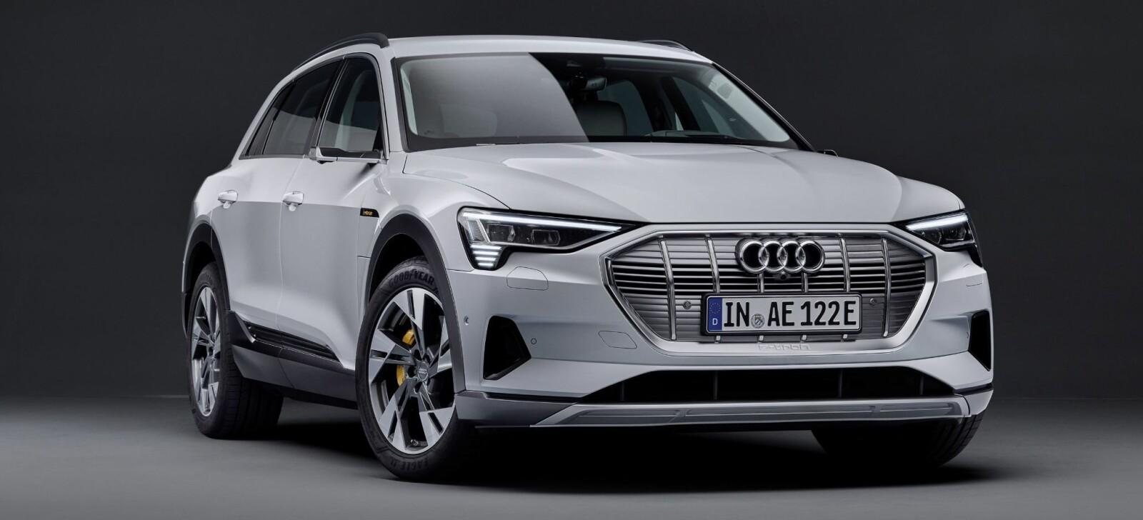 <b>RIMELIGERE:</b> Audi kommer med en rimeligere e-tron med mindre batteri og lavere pris.