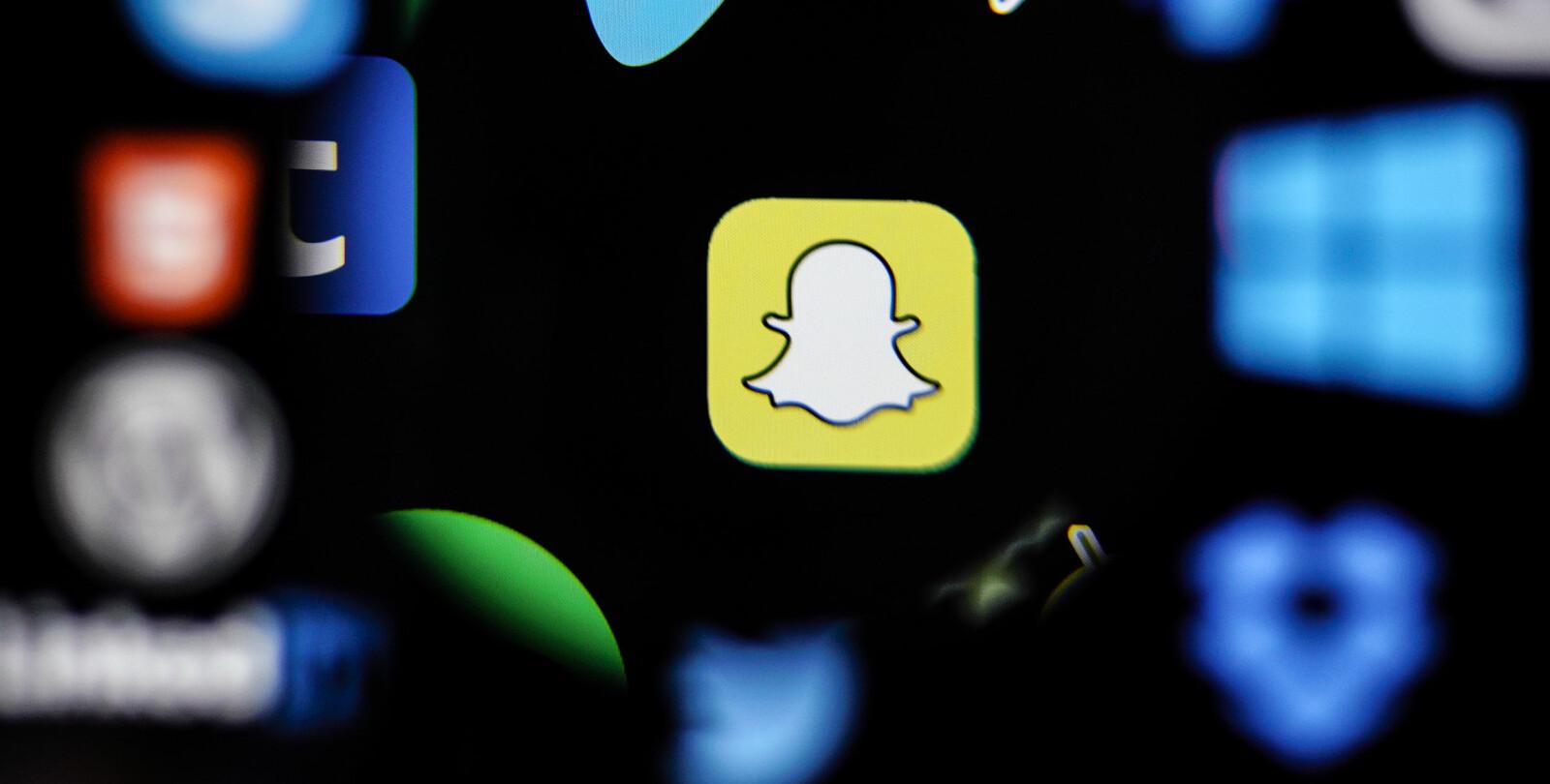 """<b>POPULÆRT:</b> Snapchat brukes av """"alle"""" under 30 år, men stadig flere voksne bruker Snapchat."""