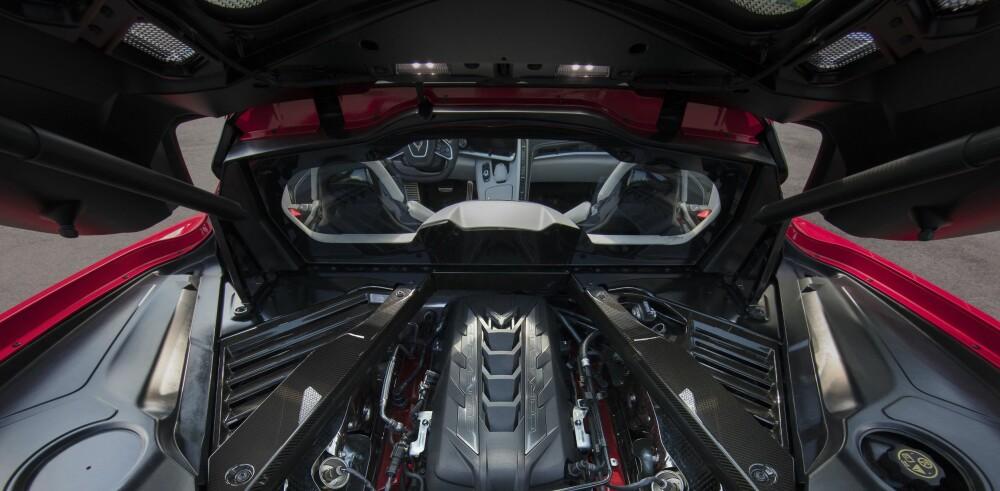 <b>HJERTET:</b> 6,2-liters V8 som puster selv.