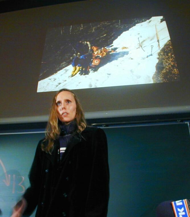 <b>FROST:</b> Anne Bågenholm var 29 år gammel da kroppen ble nedkjølt til 13,7 grader.
