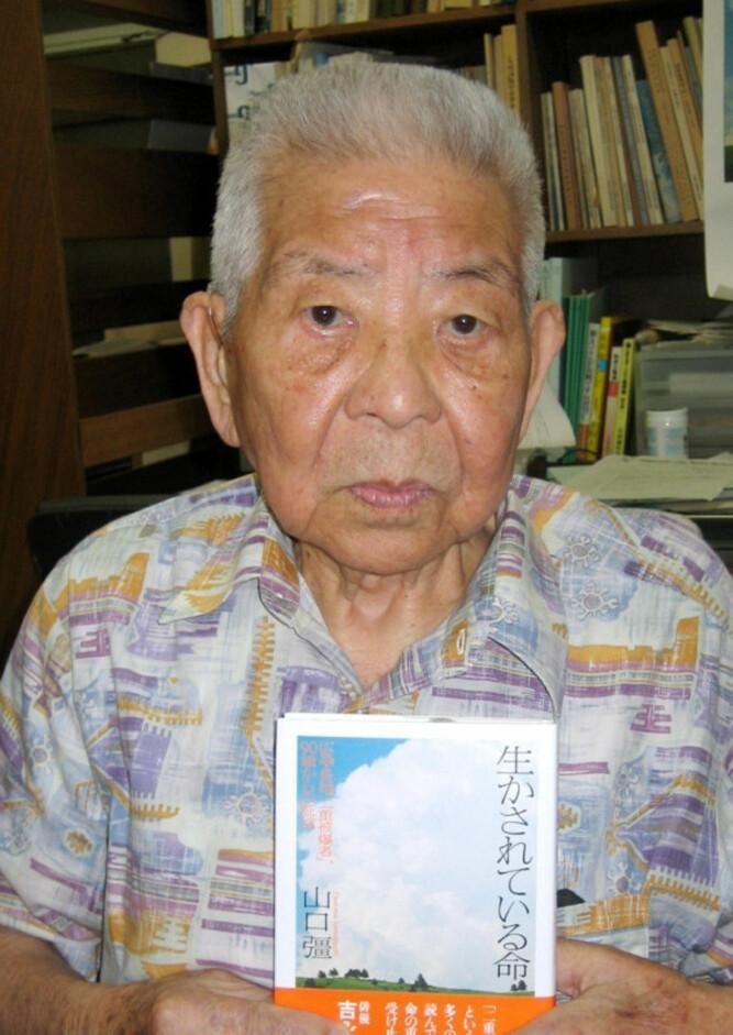 <b>BOMBET:</b> Tsutomu Yamaguchi overlevde både Hiroshima og Nagasaki og ble 93 år gammel.