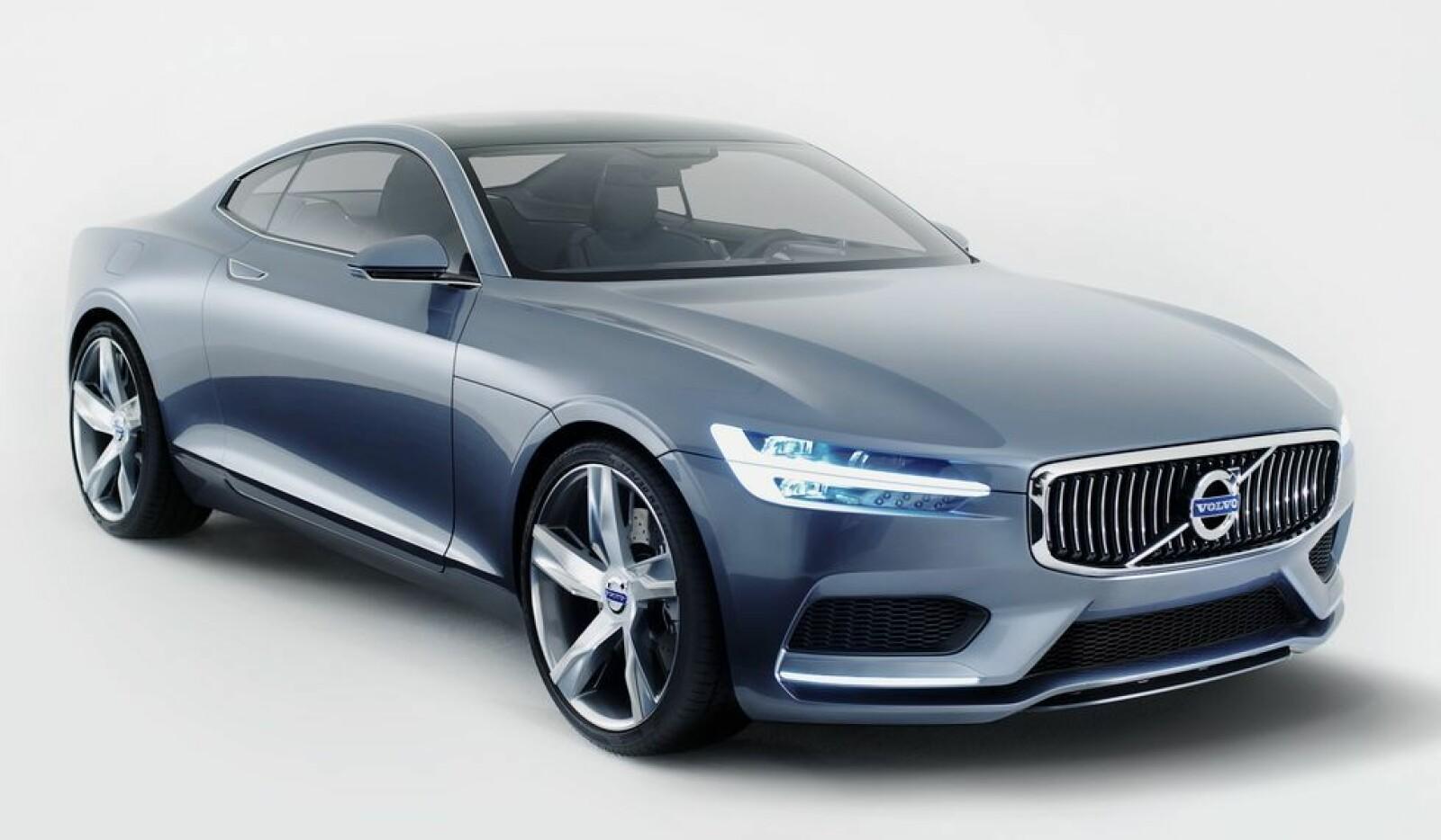 <b><SPAN CLASS=BOLD><STRONG>POLESTAR:</b></strong></span> Volvos svar til alle som ønsket en sportslig og moderne P1800 var Volvo Concept Coupé.