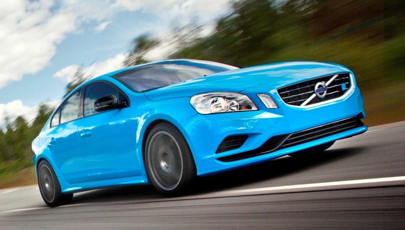 <b><SPAN CLASS=BOLD><STRONG>KONSEPT:</b></strong></span> Volvo S60 med over 500 hestekrefter. Dette var Polestar Concept fra 2012.