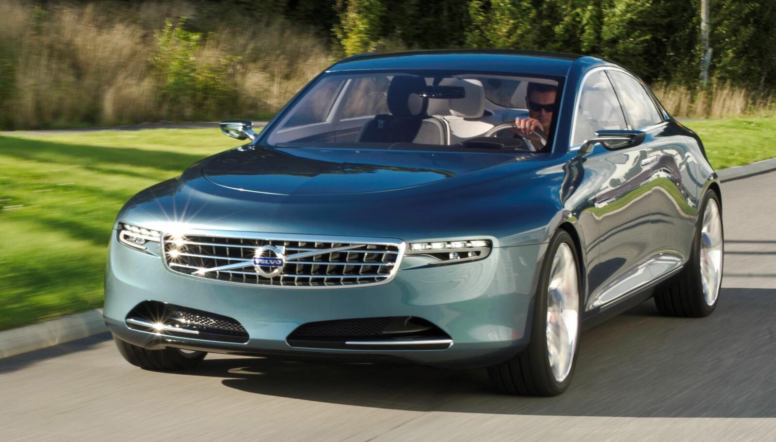 <b>LUKSUS:</b> Volvo Concept You fra 2011 var en luksuriøs og påkostet modell som skulle konkurrere med Mercedes S-klasse og BMW 7-serie.