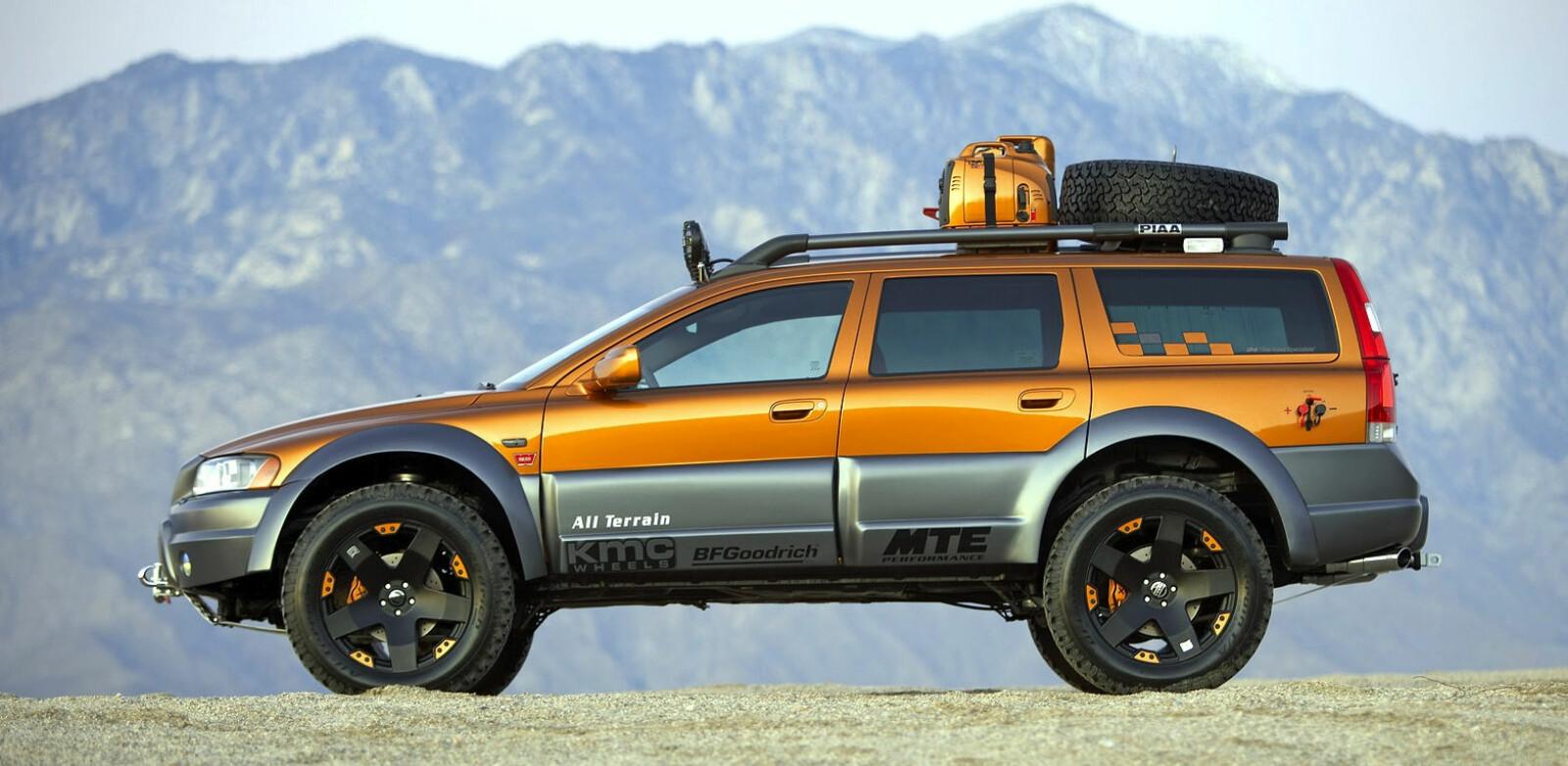 <b>TERRENGBIL:</b> Volvo All Terrain fra 2005 var et spennende konsept, men forble som akkurat det. Et konsept.