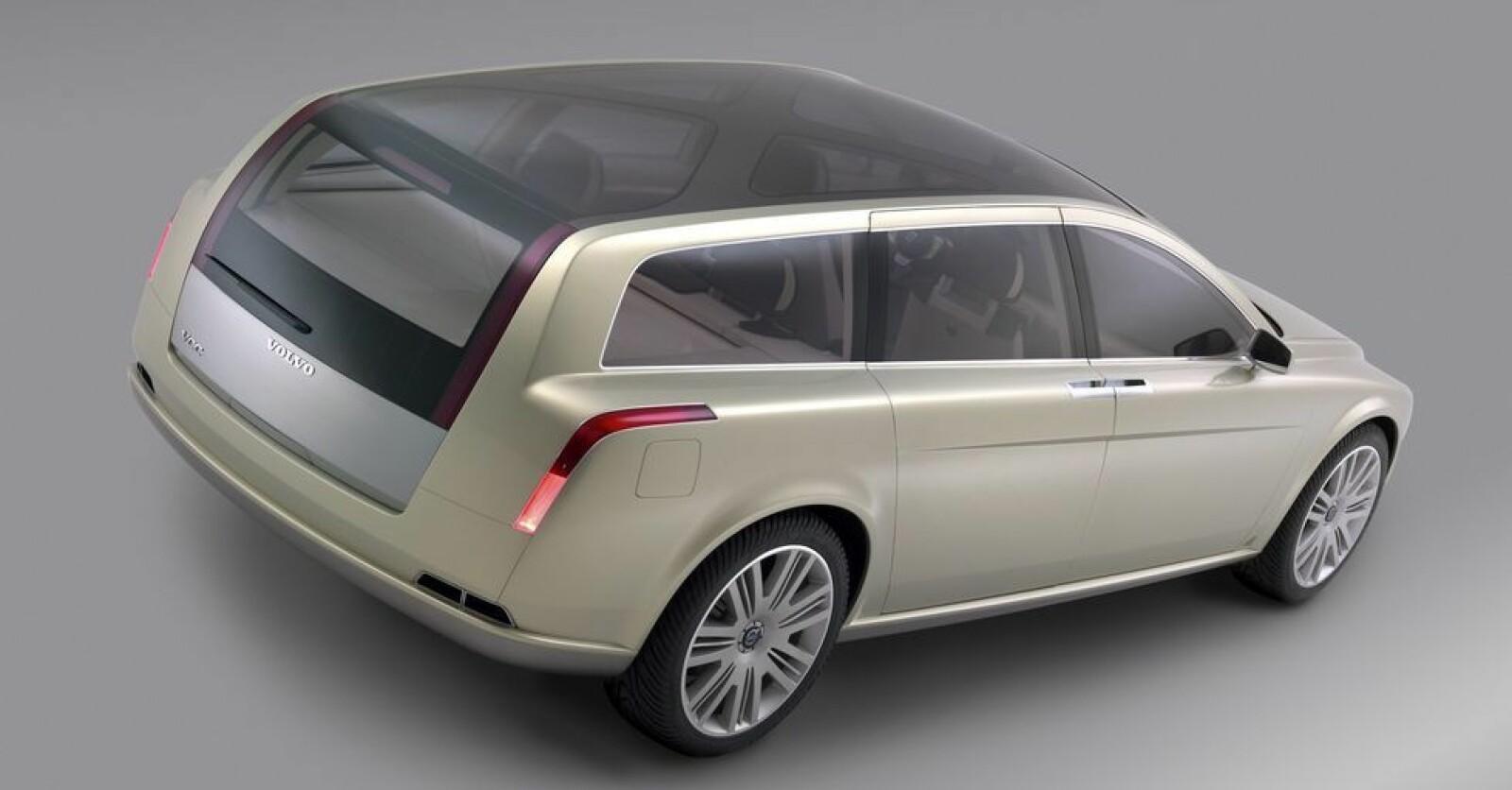 <b><SPAN CLASS=BOLD><STRONG>LUKSUSVOGN:</b></strong> </span>Volvo Versatility Concept Car, Volvo VCC, var Volvos fremtidsvisjoner for stasjonsvognen.
