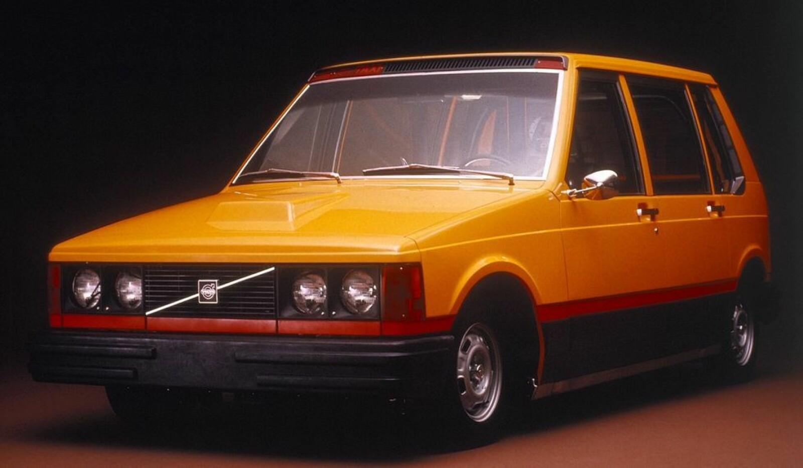 <b><SPAN CLASS=BOLD><STRONG>VOLVO EXPERIMENTAL TAXI:</b></strong> </span>Denne ble laget for å tilfredsstille drosjeselskaper i New York. Bilen ble aldri noe av.